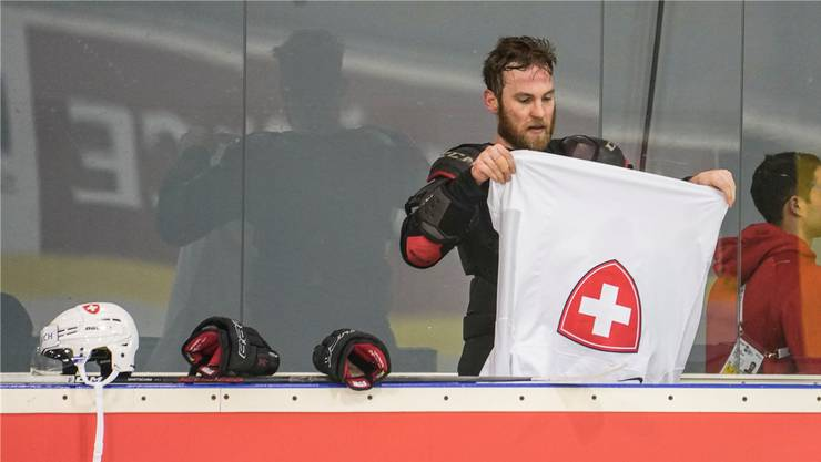Stolz, das Trikot der Schweizer Nati zu tragen: Yannick Weber.