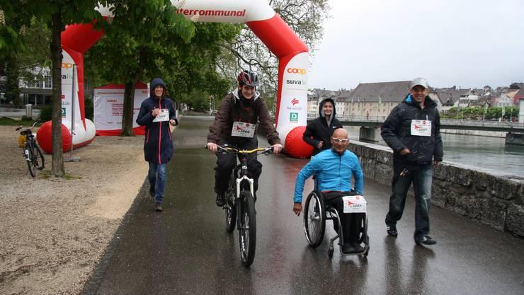 Heinz Frei gibt den Start frei für «Schweiz bewegt»