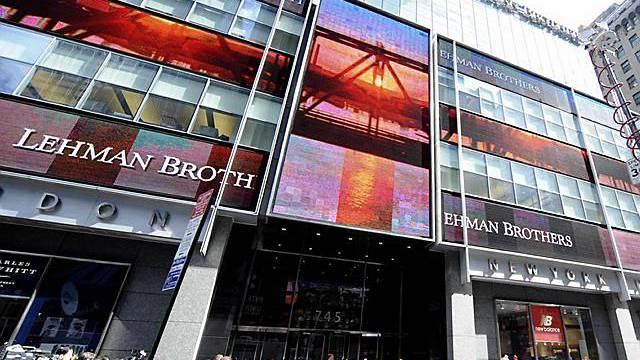 Die Pleite der Lehman-Bank stand am Anfang der Krise