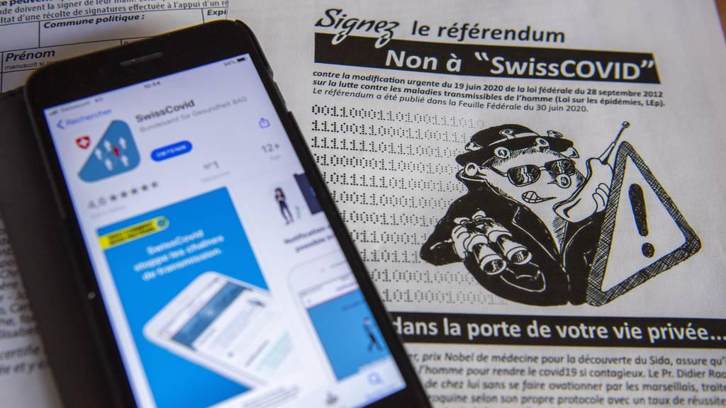 Zu wenig Unterschriften für SwissCovid-Referendum