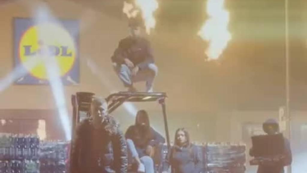 Lidl disst die Konkurrenz in Rap-Video und gewinnt das Internet