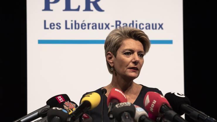 Karin Keller-Sutter gibt zwei Wochen nach Johann Schneider-Ammanns Rücktritt bekannt: «Ja, ich will für den Bundesrat kandidieren»