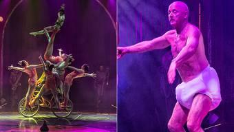 Salto Natale bietet Artistik auf höchstem und Comedy auf tiefstem Niveau