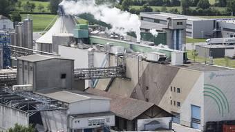Das weltweite Wirtschaftsklima kühlt sich gemäss IFO weiter ab: eine Fabrik in der Schweiz (Symbolbild).