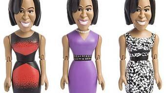 Michelle Obama mit verschiedenen Abendkleidern