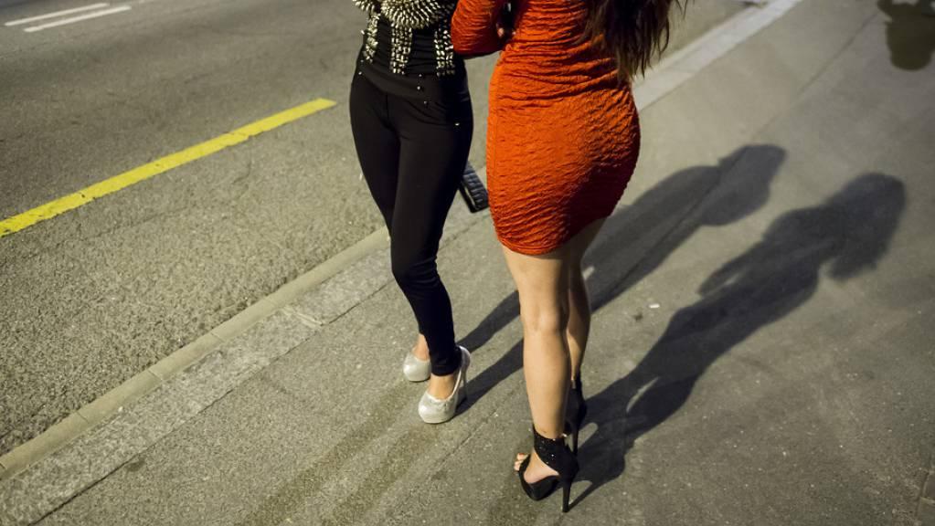 Ein 26-jähriger Rumäne schickte in Lausanne eine junge Frau auf den Strich. (Symbolbild)