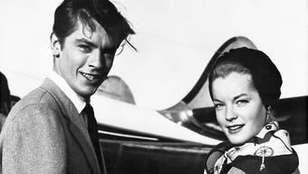 Alain Delon verlobt mit Romy Schneider: Delon galt als einer der schönsten Männer des französischen Kinos. Schauspieler wurde er wegen der Bewunderung, die ihm Frauen entgegen brachten. (Archivbild)