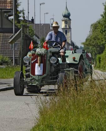 Unterwegs im Unterdorf von Kestenholz.