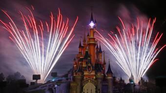 Feuerwerk im Disneyland Paris