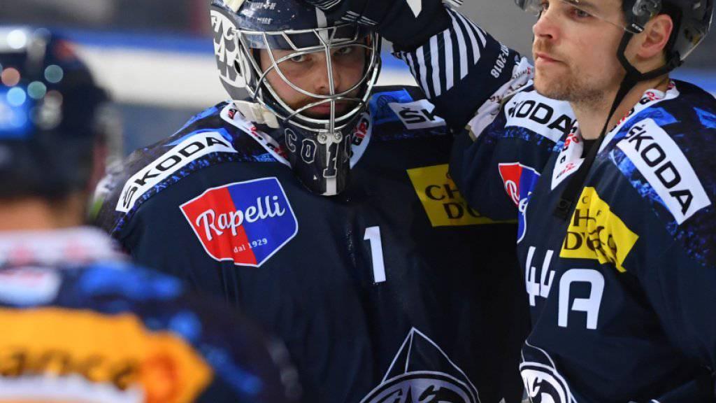 Neue Teamkollegen für Ambris Goalie Benjamin Conz