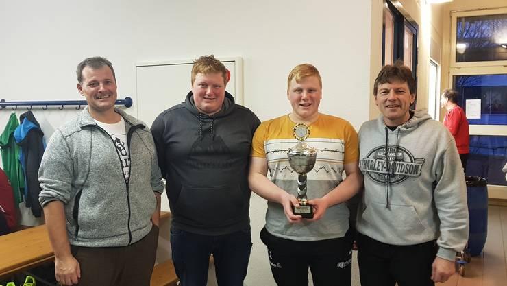 Der Turniersieger des Hallen Faustball Turniers 2019