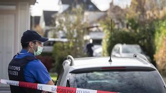 Die vier Toten wurden in einem Einfamilienhaus in Buchs AG aufgefunden.