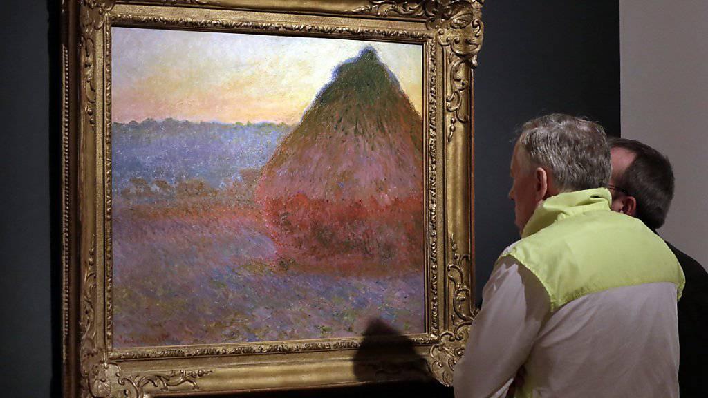 """War einem Sammler 81,4 Millionen Dollar wert: Monets """"Meule"""". (Archivbild)"""