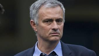 Jose Mourinho schaut nich wirklich zufrieden drein