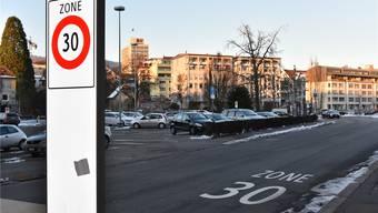 So wie hier in der Oltner Schützi solls an der Hardfeldstrasse in Starrkirch-Wil nicht aussehen, der Gemeinderat möchte keine zusätzliche Verkehrsberuhigung.