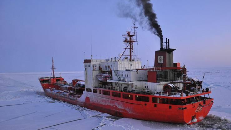 ABB rüstet russische Eisbrecher aus. (Symbolbild)