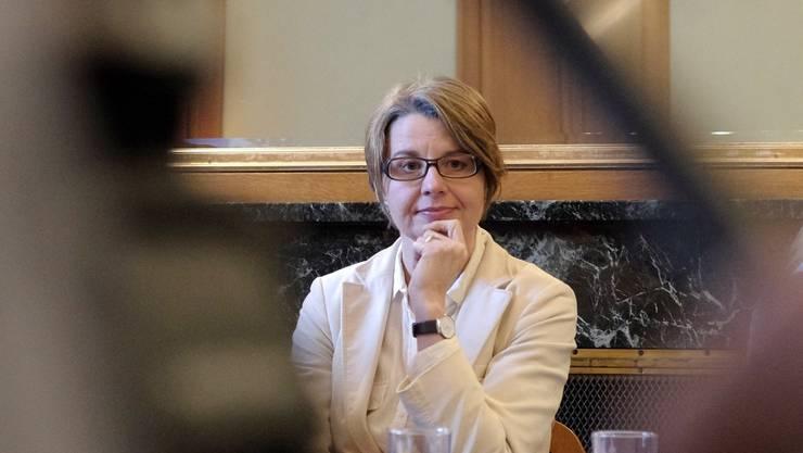 Die Kandidatin der Grünliberalen: Martina Bernasconi