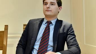 """""""Ich habe mich nicht extrem um diese Aufgabe gerissen"""": Benjamin Fischer, der einzige Kandidat für das Präsidium der Zürcher SVP."""