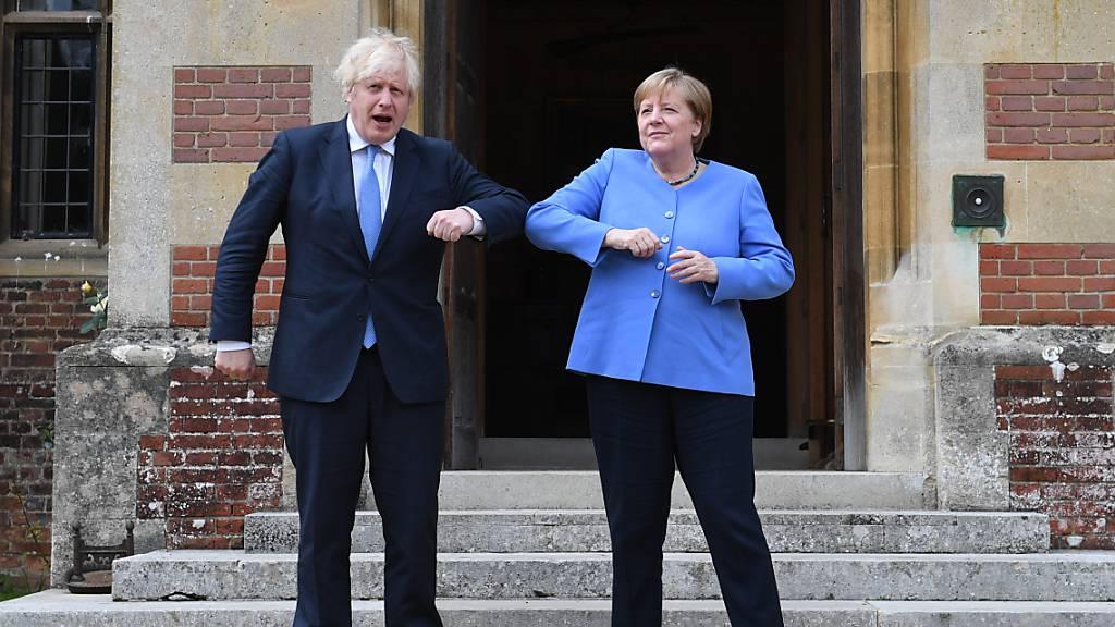 Merkel und Johnson beschwören Neuanfang - Differenzen bleiben