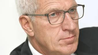 Bis Juni 2017 sass der ehemalige Raiffeisen-Chef Pierin Vincenz im Aufsichtsgremium der Kreditkartenfirma Aduno. (Archivbild)
