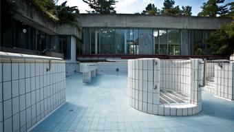 Seit Sommer 2012 ist das Thermalbad Baden trockengelegt. archiv/Chris Iseli