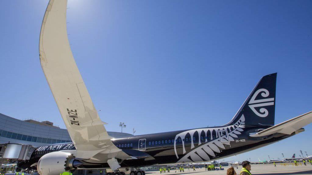 2014 erhielt Air New Zealand die allererste Boeing 787-9 Dreamliner. (Archiv)