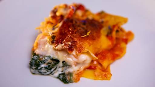 Lachs-Spinat-Lasagne von Alan