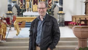 Historiker und Kirchenpflegepräsident Linus Hüsser.
