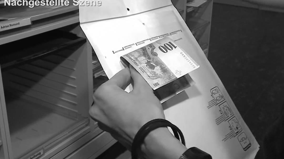 Dreiste Pöstlerin in Härkingen klaut 40'000 Franken aus Briefen