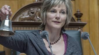 2022 wird, wie schon Maya Graf 2012/2013, wieder eine Nationalratspräsidentin oder ein Nationalratspräsident der Grünen Partei die Sessionen des Nationalrats einläuten. (Archivbild)