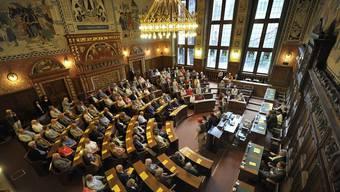 Der Grosse Rat in Basel
