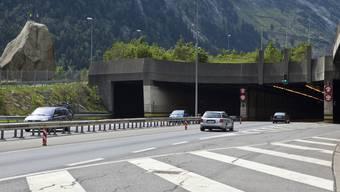 Die Urner Regierung will keine zweite Röhre durch den Gotthard (Archiv)
