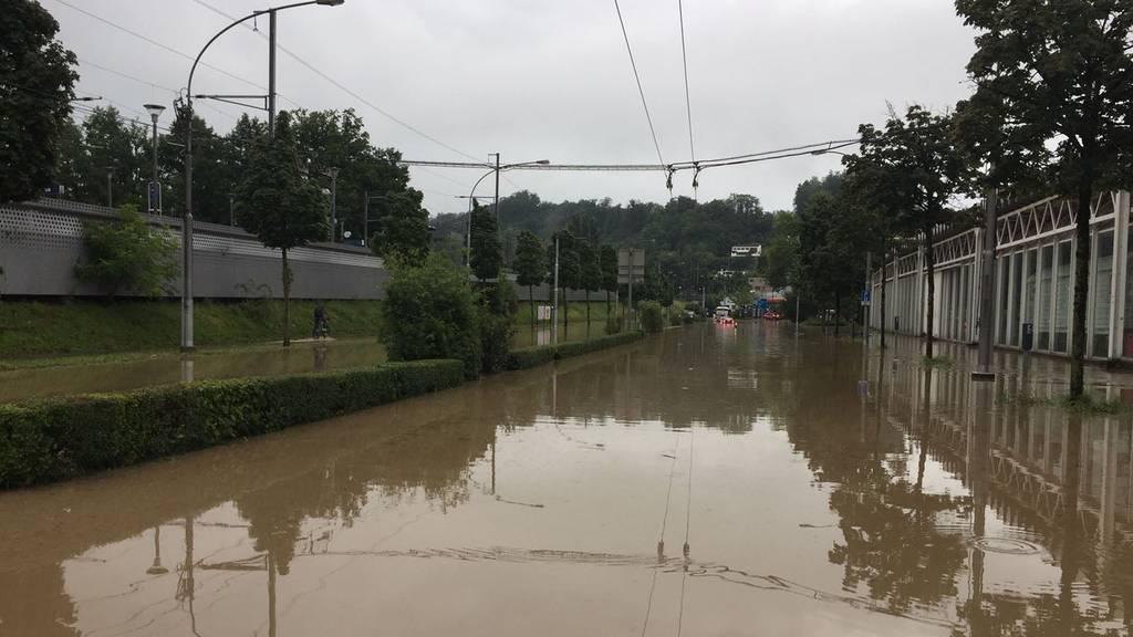 Stadt Luzern prüft weitere Schutzmassnahmen beim Würzenbach