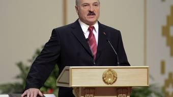 Seine Wiederwahl war keine Überraschung: der weissrussische Präsident Alexander Lukaschenko (Archivbild).