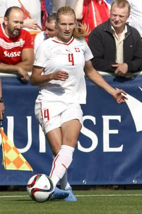 2015: Rachel Rinast mit 24 im Schweizer Nationalteam.