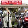 Das Drive-in-Testzentrum in Yverdon. Ab Freitag wird es ein solches Angebot auch in Dübendorf geben.