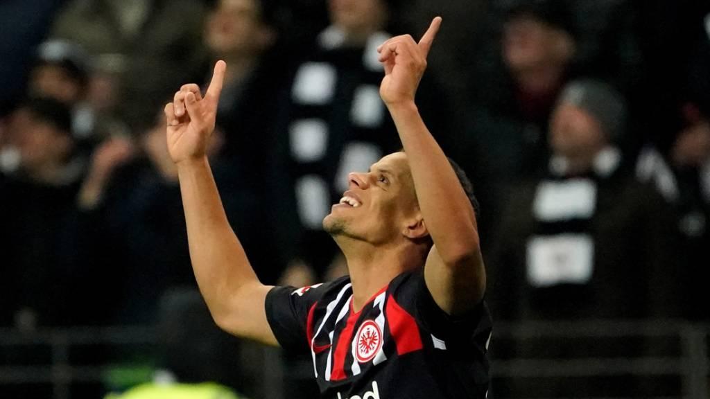 Eintracht Frankfurt bleibt im Schwung