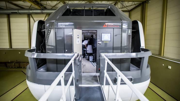 Der Simulator für die Bombardier ist die neuste Errungenschaft im Training der Swiss.
