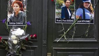 Porträts der drei getöteten kurdischen Aktivistinnen