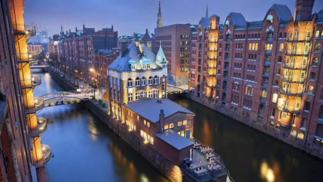 Globus-Reisen bietet in Hamburg einen VIP-Shopping-Service an. Auf der Foto: Speicherstadt Hamburg. Foto: Getty