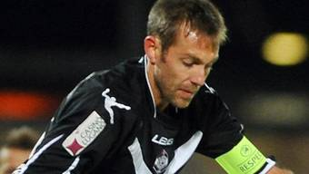 Silvan Aegerter erzielte für Lugano das 1:0