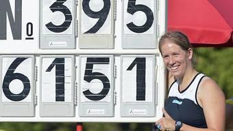 Nicole Zihlmann warf den Hammer knapp an die 62-Meter-Marke