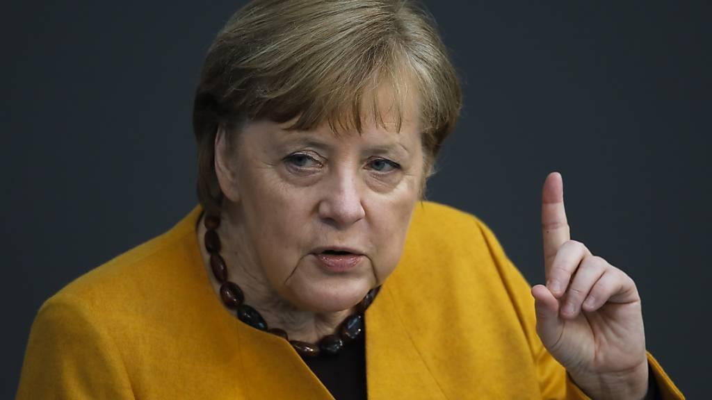 Merkel: Keine Vertrauensfrage im Streit um Corona-Massnahmen