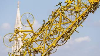 Brüssel hat sich für den Auftakt der 106. Tour de France herausgeputzt
