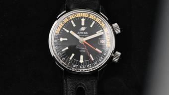 Heute begehrtes Sammlerobjekt: Uhr der Marke Enicar.