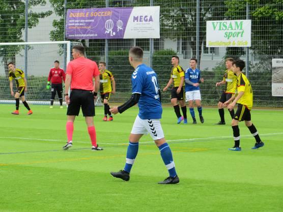 In der Halbzeit 2 : 3 für Lausen, am Schluss 6 : 5 für FC Frenkendorf