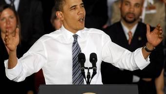 Obama hat hart für die Gesundheitsreform gekämpft - nun ziehen die Gegner vor Gericht (Archiv)