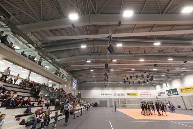Das neue Zuhause von Volleyschönenwerd ist ein Leistungszentrum für den Volleyballsport.