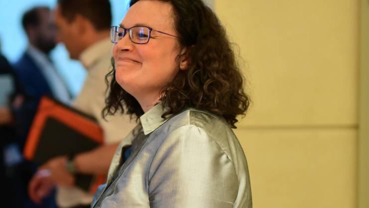 Nach ihrem Rücktritt als Parteichefin der SPD hat sich Andrea Nahles auch von der Spitze der Bundestagsfraktion zurückgezogen.