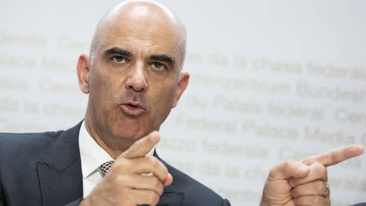 Bundesrat Alain Berset.